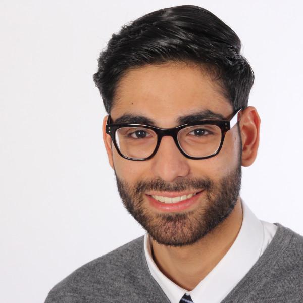 Hier sehen Sie das Mitglied Sammy Al Bayati.