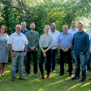 die 14 Kandidaten der Wingster SPD-Liste
